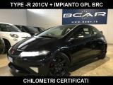 HONDA Civic 2.0 i-VTEC 3p. Type R + GPL BRC + KM CERTIFICATI