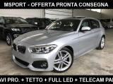 BMW 118 d 5p. Msport /Full LED/Navi Pro/Tetto/